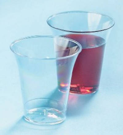 Clear Plastic Communion Cups, package of 1000