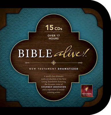 Bible Alive! New Living Translation New Testament CD