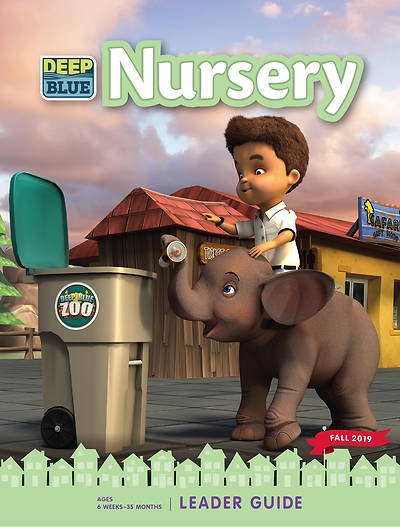 Picture of Deep Blue Nursery Leader Guide Fall 2019 PDF download
