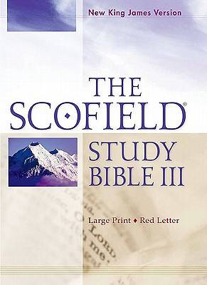 Picture of Scofield Study Bible III-NKJV-Large Print