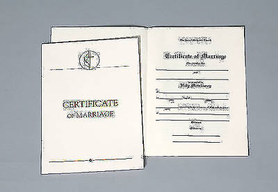 United Methodist Marriage Certificates with Traditional 1964 Service (Pkg of 3)