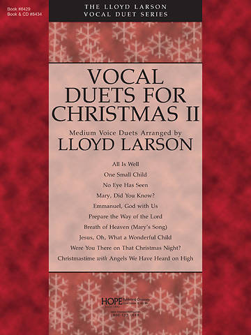 Vocal Duets for Christmas II Choral Book