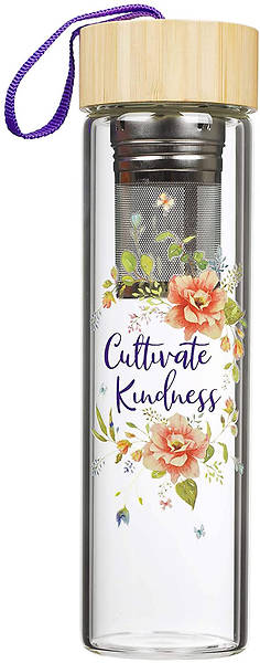 Picture of Cultivate Kindness Glass Water Bottle