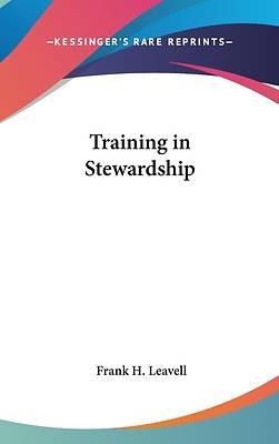 Training in Stewardship