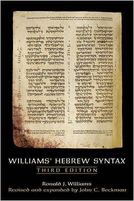 Williams Hebrew Syntax