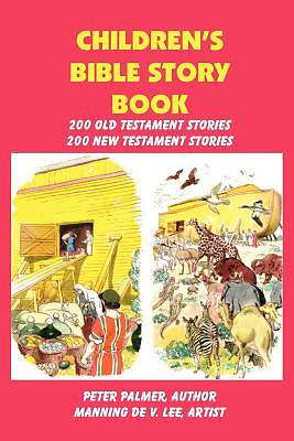 Picture of Children's Bible Story Book - Four Color Illustration Edition