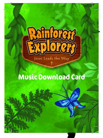 Picture of Vacation Bible School VBS 2021 Rainforest Explorers Music Download Card