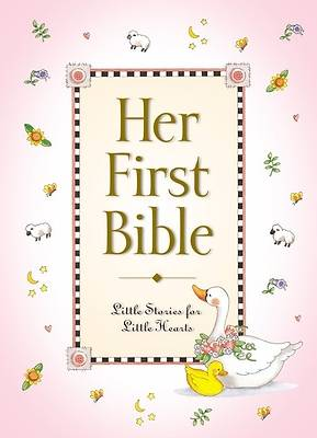Picture of Her First Bible