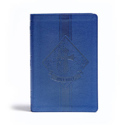 KJV Kids Bible, Royal Blue Leathertouch