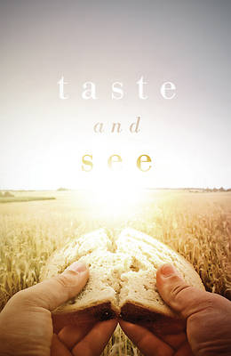 Picture of Taste and See (Pkg of 25)