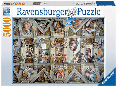 Picture of Sistine Chapel 5000 Piece Puzzle