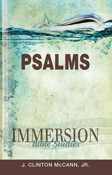 Picture of Immersion Bible Studies: Psalms