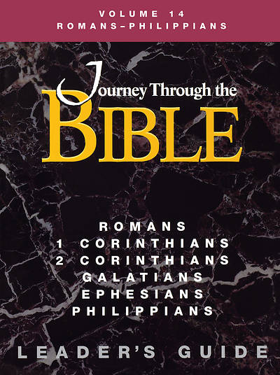 Picture of Journey Through the Bible Volume 14: Romans - Philippians Leader's Guide