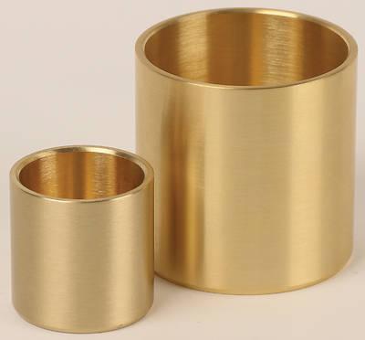 """Picture of Koleys Bronze 2 1/2"""" High Candlestick 1-1/2 Socket 1-1/2 Socket"""