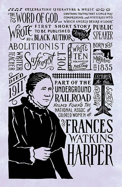 Picture of Frances Watkins Harper Black History Month Regular Size Bulletin