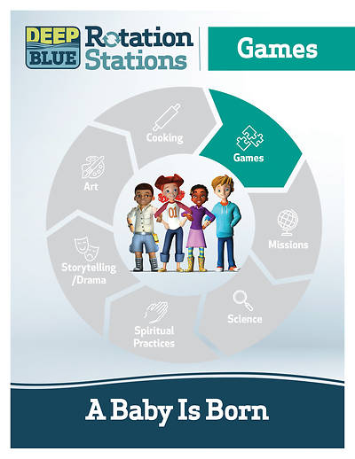 Picture of Deep Blue Rotation Station: A Baby Is Born - Games Station Download
