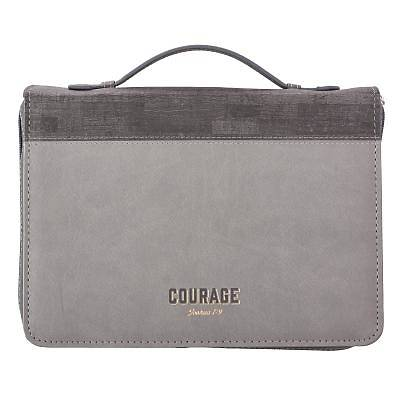 Picture of Bible Cover Medium Luxleather Courage