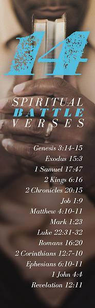 Picture of 14 Spiritual Battle Verses Bookmark Pkg of 25