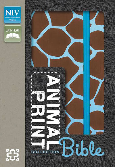 Animal-Print Collection Bible, NIV