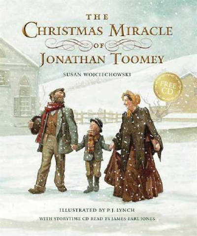 The Christmas Miracle of Jonathan Toomey with CD