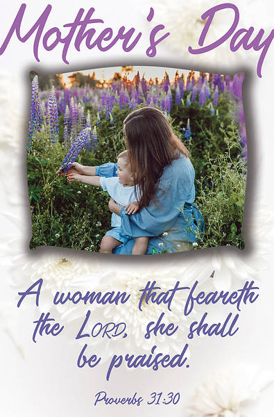 Feareth The Lord Mother's Day Regular Size Bulletin