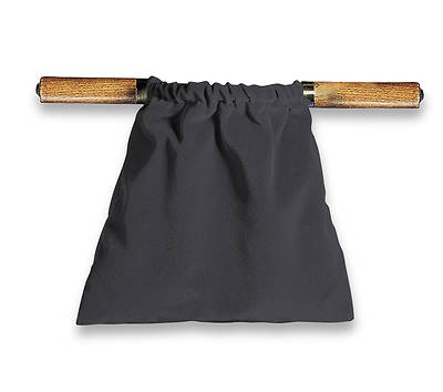 Picture of Artistic Black Two-Handled Offering Bag