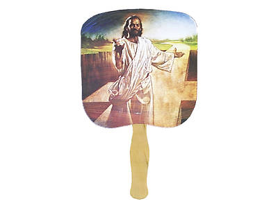 I Am The Way Hand Fan - Pack of 50