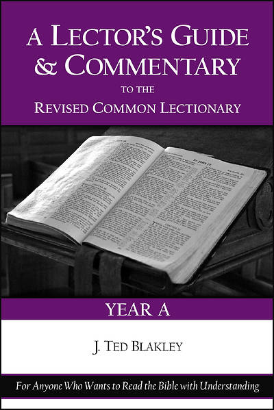 Picture of A Lectors Guide And Commentary to the Revised Common Lectionary (Year A)