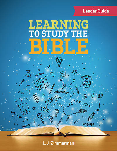 Picture of Learning to Study the Bible Leader Guide - eBook [ePub]