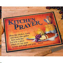 Picture of Kitchen Prayer Cutting Board