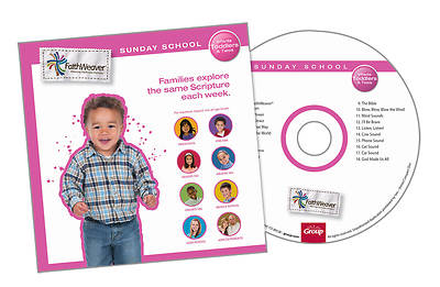 Picture of Group's Faithweaver Infant, Toddlers & Twos CD Fall 2012