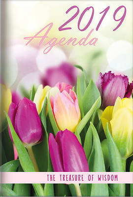 Picture of The Treasure of Wisdom - 2019 Daily Agenda - Tulips