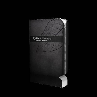 Picture of Biblia de Promesa Tamaño Manual / Piel Escecial / Negro / Con Cierre
