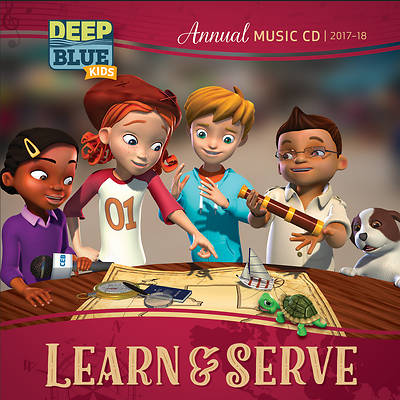 Deep Blue Kids Learn & Serve Annual Music CD 2017-18