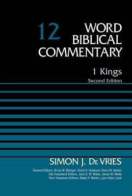 1 Kings, Volume 12 - World Biblical Commentary