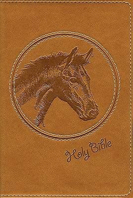 New International Version Wild About Horses Bible