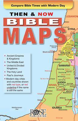 Then and Now Bible Maps Pamphlet