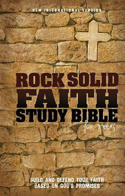 Rock Solid Bible for Teens, NIV