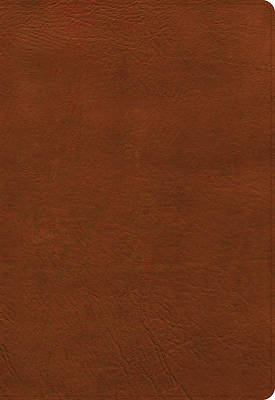 Picture of NASB Super Giant Print Reference Bible, Burnt Sienna Leathertouch