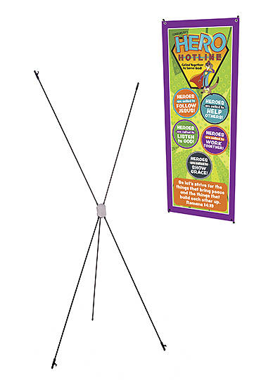 VBS Banner Stand