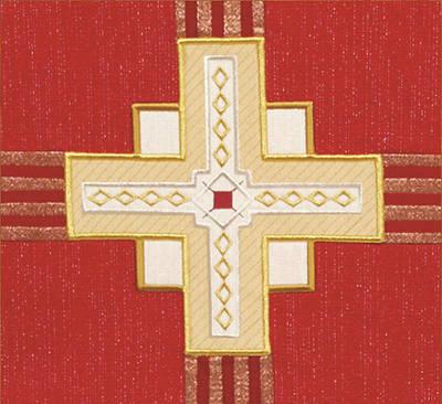 Picture of Abbott Hall Kingdom Cross N2549B Lectern Scarf