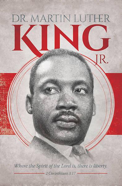 Picture of Dr. Martin Luther King Jr. Regular Bulletin 2 Corinthians 3:17