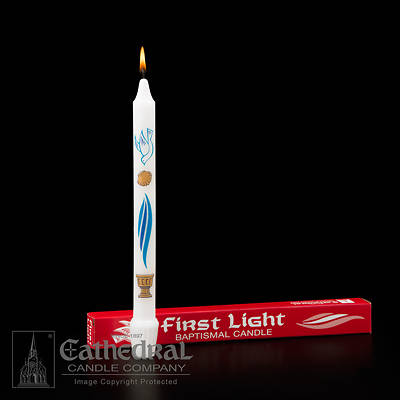 Picture of First Light Baptismal Candle