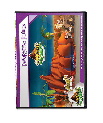 Group VBS 2014 Wilderness Escape Decorating Places DVD