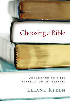 Picture of Choosing a Bible