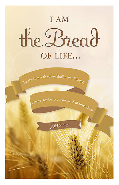 I Am the Bread of Life Communion Bulletin