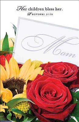 Flowers Mothers Day Bulletin (Pkg of 50)