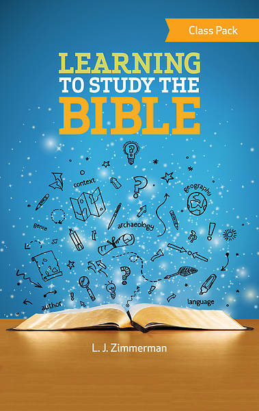 Picture of Learning to Study the Bible Class Pack - PDF Download