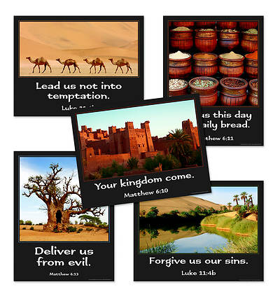 Concordia Vacation Bible School 2012 Amazing Desert Journey Bible Memory Posters (pkg of 5)