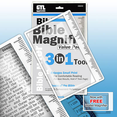 Bible Magnifier 3-in-1 Tool Value Pack